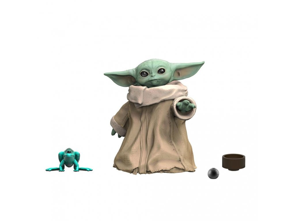 Star Wars The Mandalorian Black Series Akční Figurka Baby Yoda 3 cm Hasbro