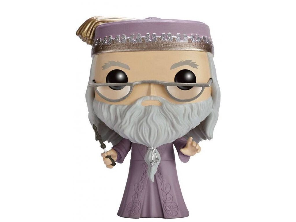 Harry Potter POP! Movies Vinyl Figure Dumbledore with Wand 9 cm Funko