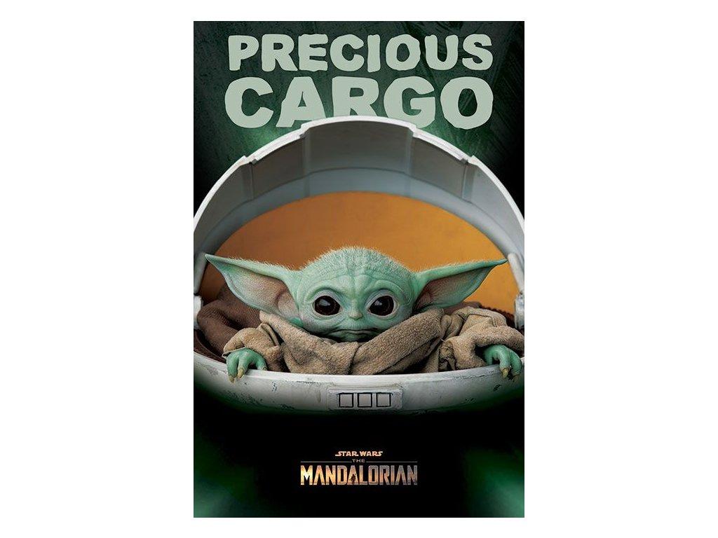 Star Wars The Mandalorian Plakát Precious Cargo 61 x 91 cm Pyramid International