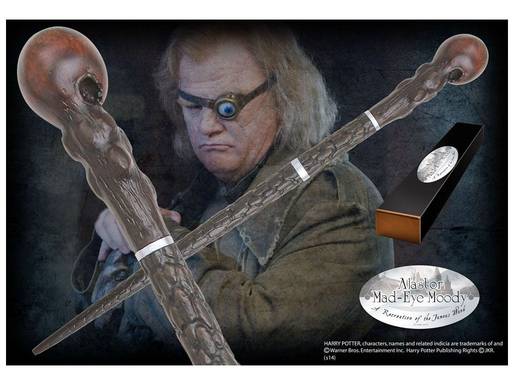 Harry Potter Wand Alastor Mad-Eye Moody (Character-Edition) Noble Collection