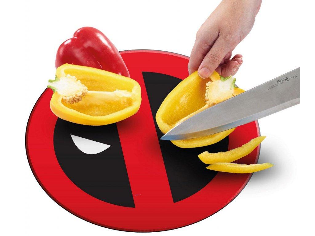 Marvel Cutting Board Deadpool Icon Funko
