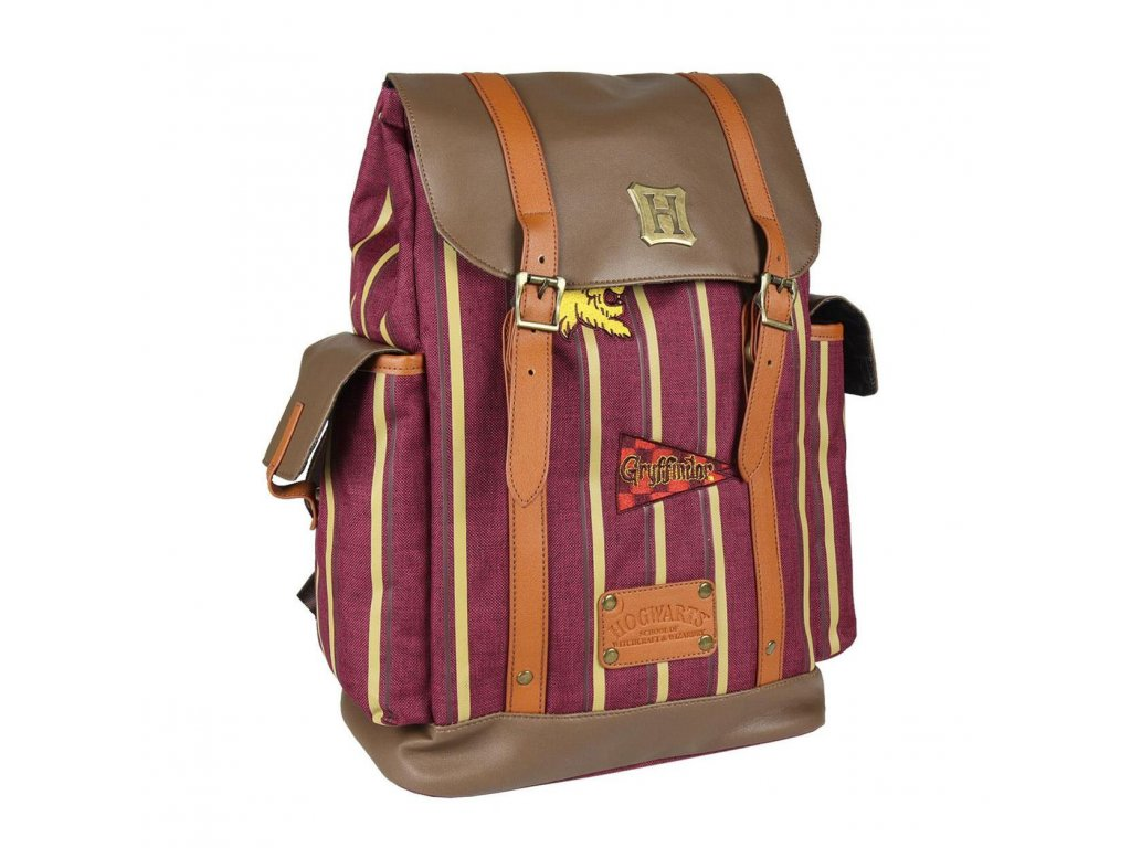 Harry Potter Backpack Hogwarts Stripes Cerdá