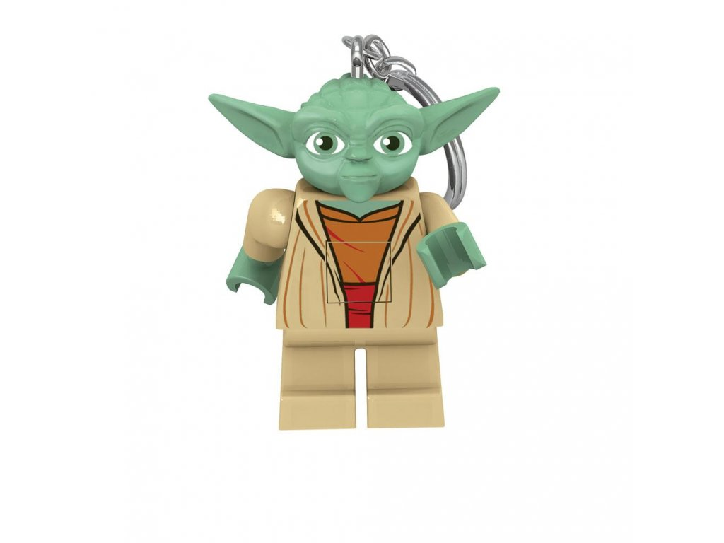 LEGO Star Wars Light-Up Keychain Yoda 6 cm Joy Toy