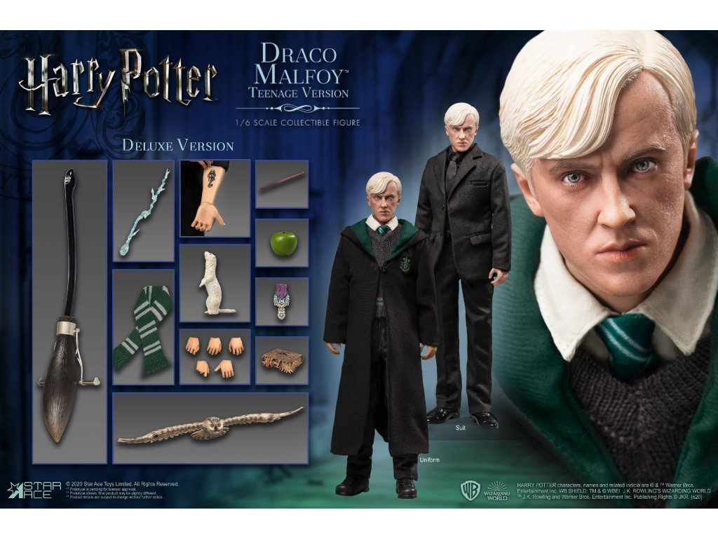 Harry Potter My Favourite Movie Action Figure 1/6 Draco Malfoy Teenager Deluxe Version 26 cm Star Ace Toys