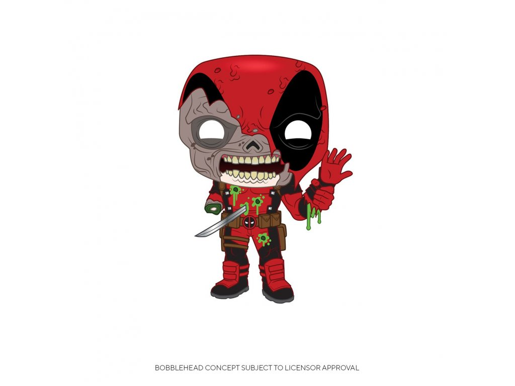 Marvel POP! Vinyl Figure Zombie Deadpool 9 cm Funko