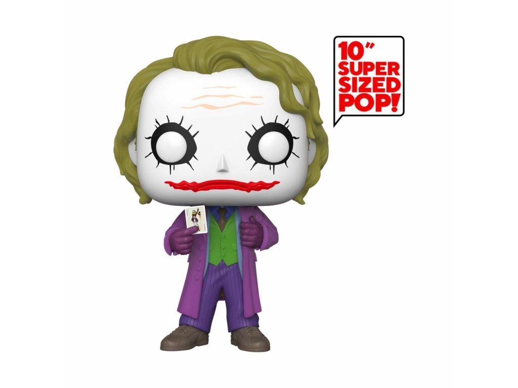 Joker Super Sized POP! Movies Vinyl Figure Joker 25 cm Funko