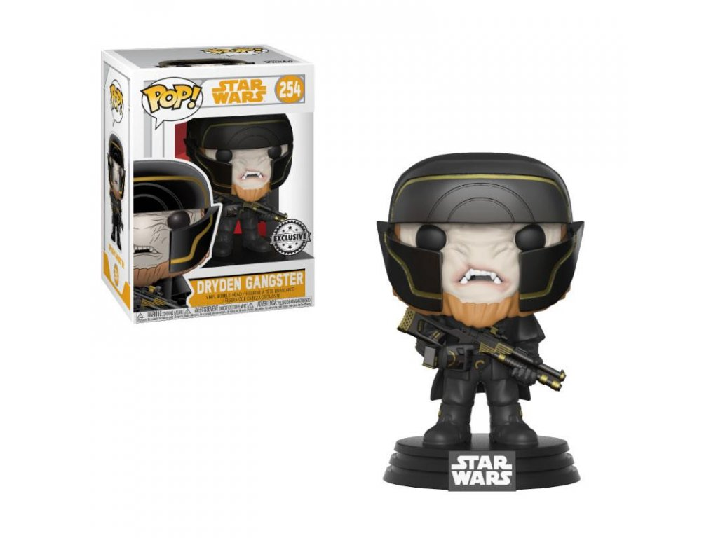Star Wars Solo POP! Movies Vinyl Bobble-Head Dryden Henchman 9 cm Funko