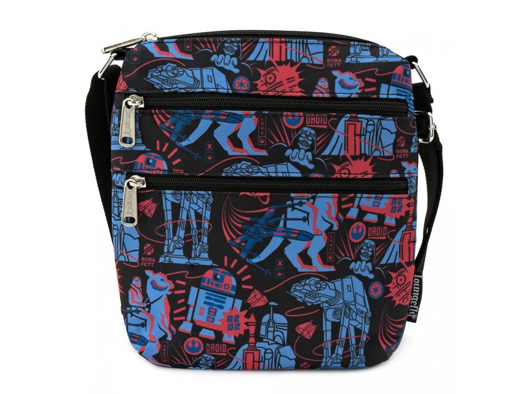 Star Wars by Loungefly Passport Bag Empire Strikes Back 40th Anniversary AOP Loungefly