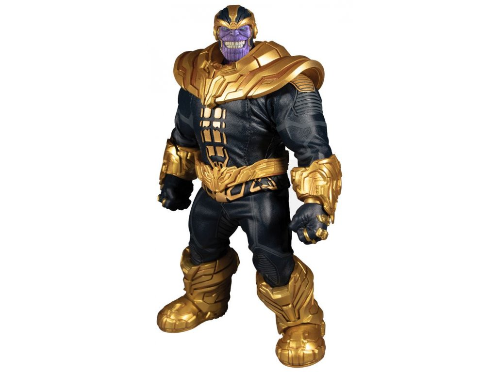 Marvel Universe Light-Up Action Figure 1/12 Thanos 21 cm Mezco Toys