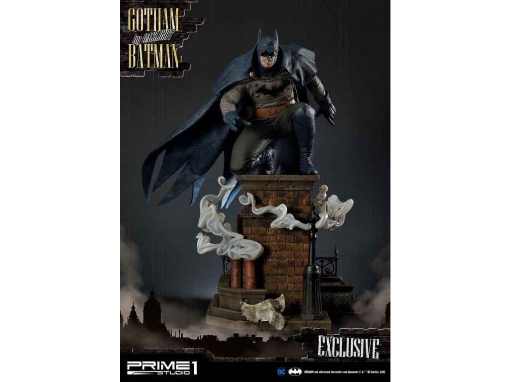 Batman Arkham Origins Statues 1/5 Gotham By Gaslight Batman Blue Version & EX 57 cm Assortment (3) Prime 1 Studio