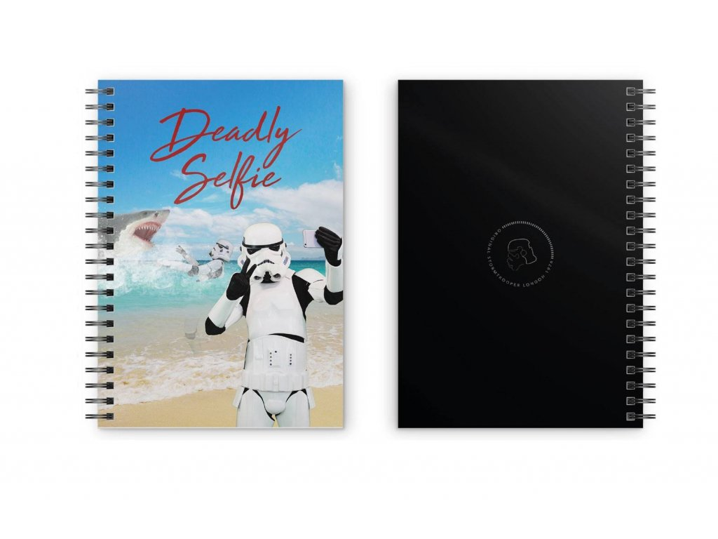 Original Stormtrooper Notebook Deadly Selfie SD Toys