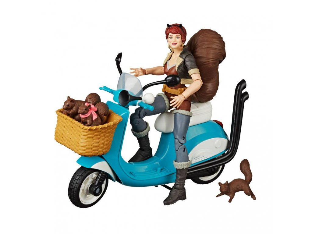 Marvel Legends Series Action Figure with Vehicle Squirrel Girl 15 cm Hasbro