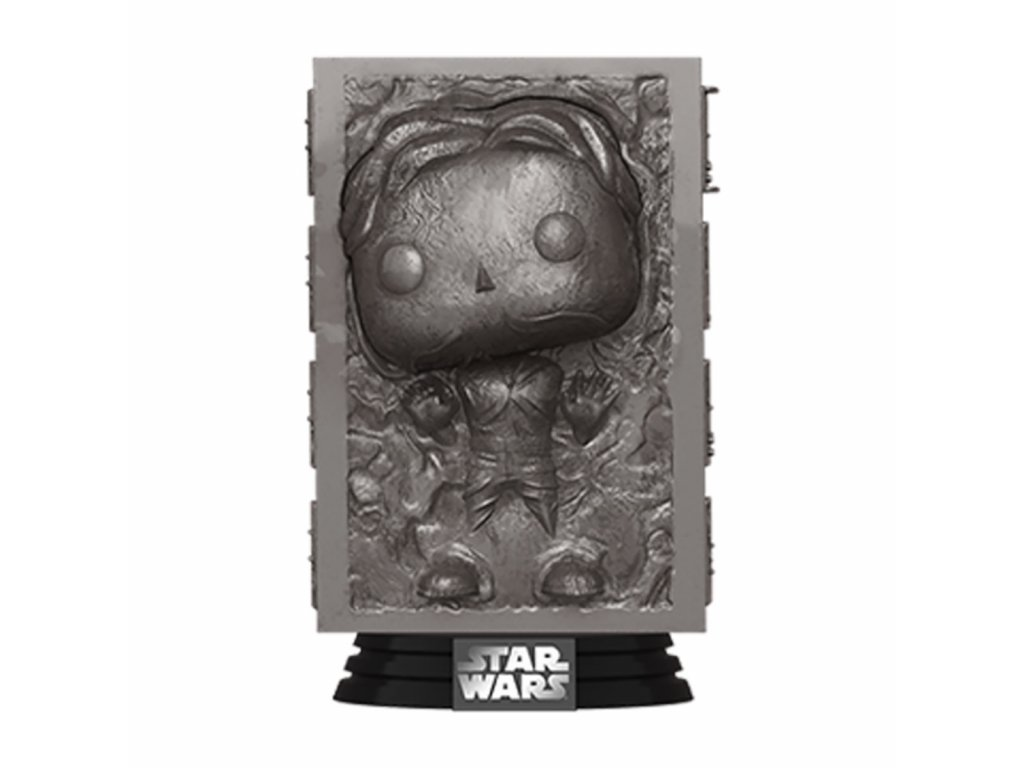 Star Wars POP! Movies Vinyl Figure Han in Carbonite Empire Strikes Back 40th Anniversary 9 cm Funko