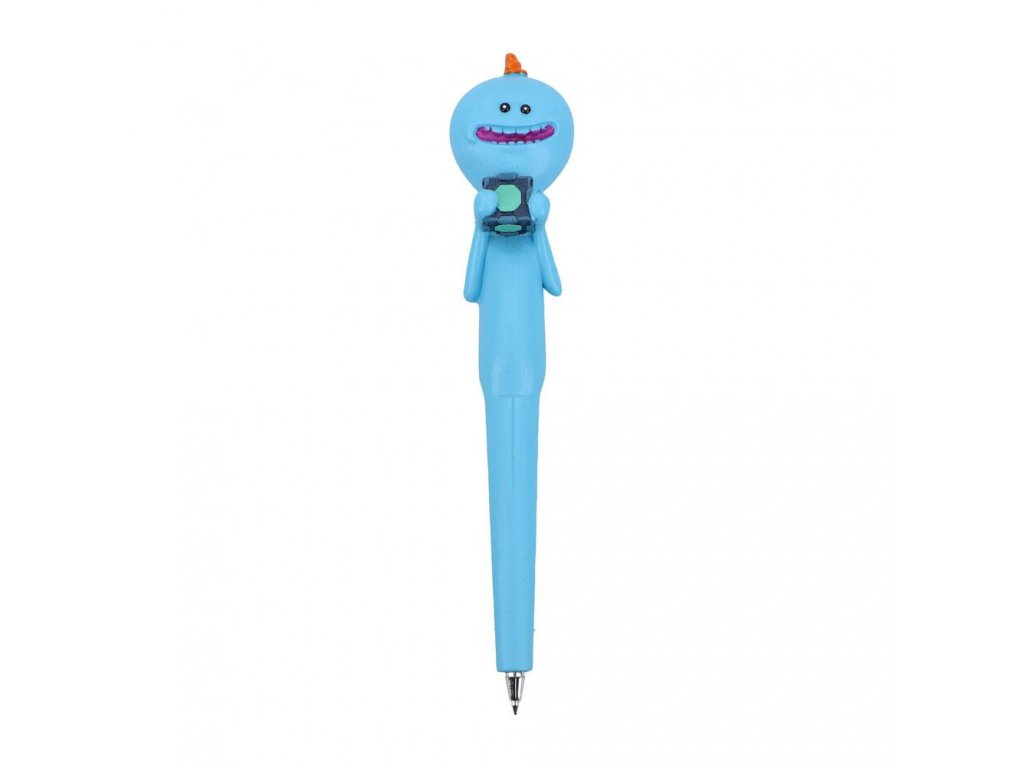 Rick and Morty Ball Point Pen Mr. Meeseeks 18 cm Nemesis Now