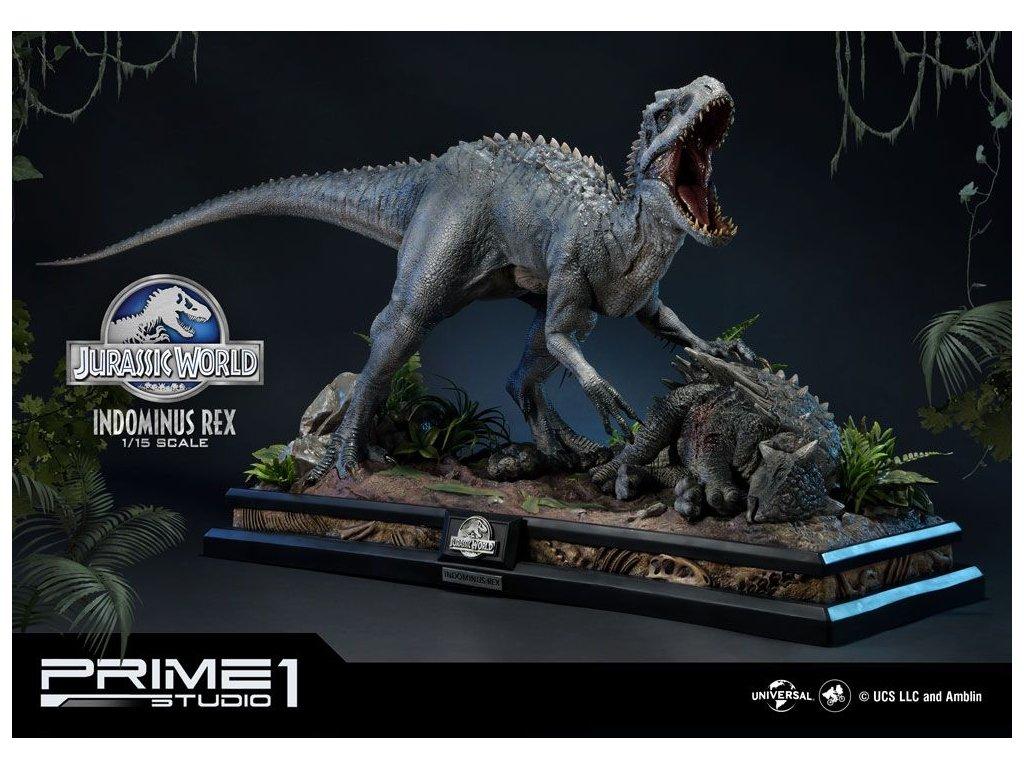 Jurassic World: Fallen Kingdom Statue 1/15 Indominus Rex 105 cm Prime 1 Studio