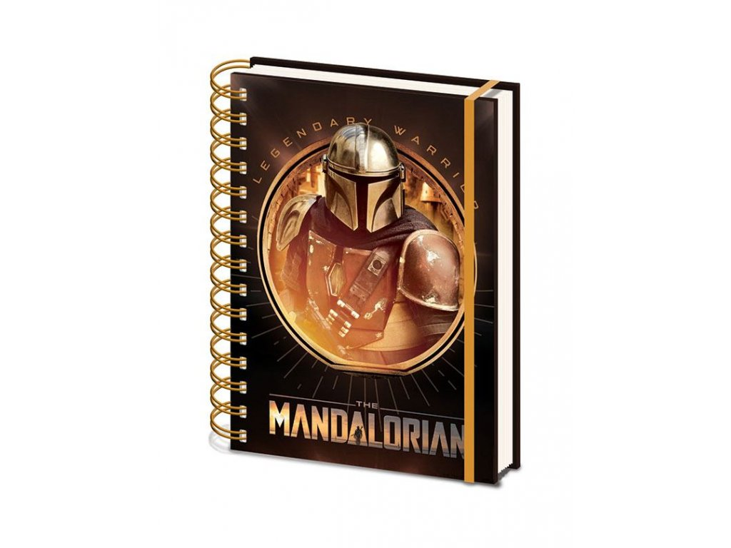 Star Wars The Mandalorian Wiro Poznámkový blok A5 Bounty Hunter Pyramid International
