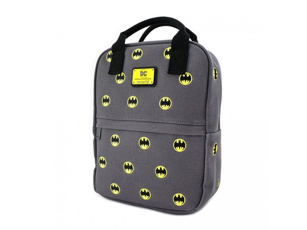 DC Comics by Loungefly Backpack Batman Logos Loungefly