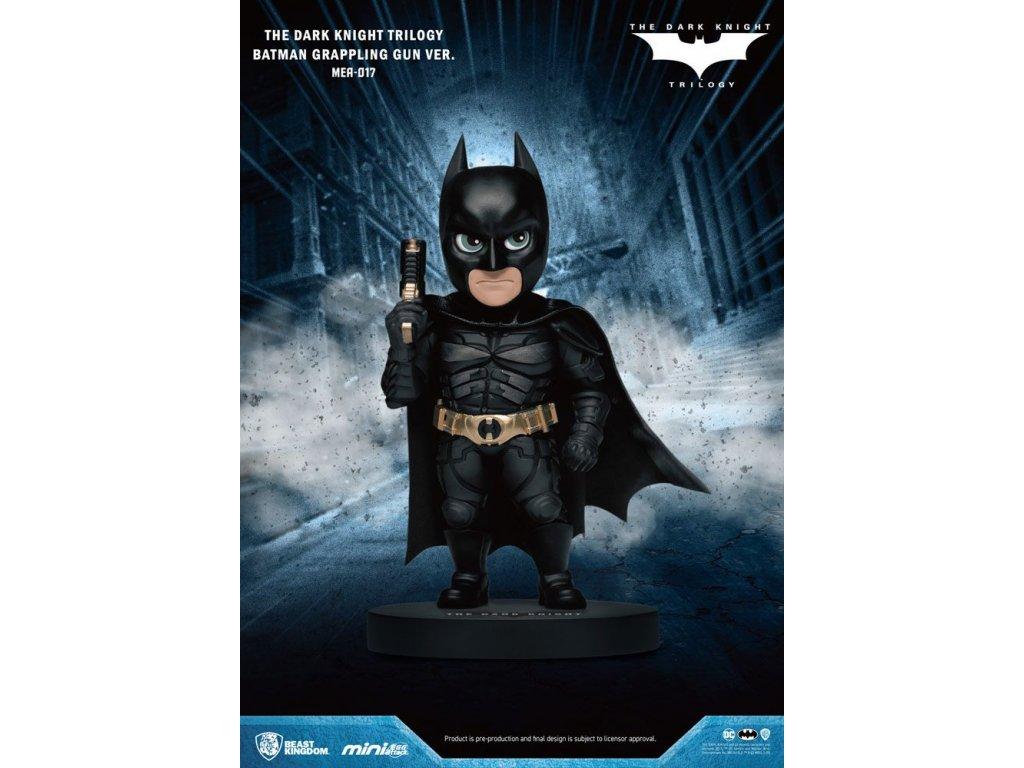 Dark Knight Trilogy Mini Egg Attack Figure Batman Grappling Gun Ver. 8 cm Beast Kingdom Toys