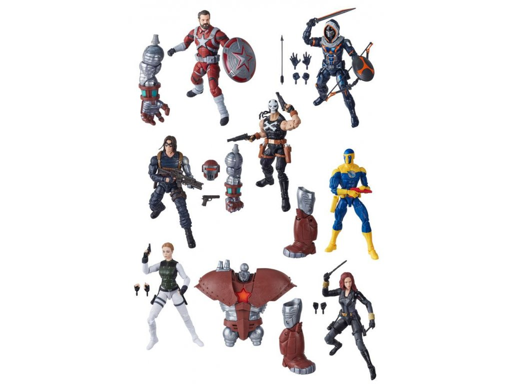 Marvel Legends Series Action Figures 15 cm 2020 Black Widow Assortment (8) Hasbro