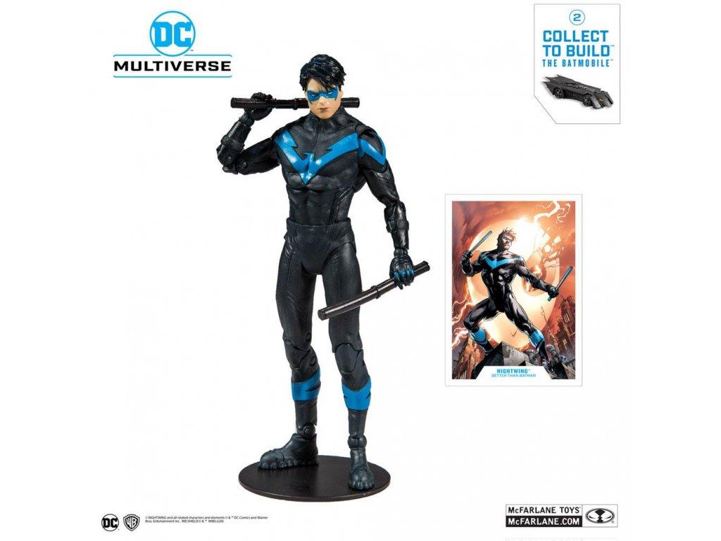 DC Rebirth Build A Action Figure Nightwing (Better Than Batman) 18 cm McFarlane Toys