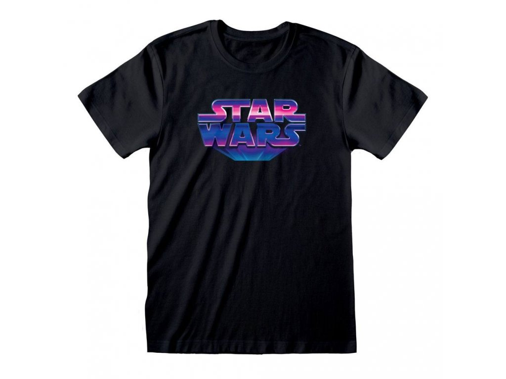 Star Wars T-Shirt 80's Logo Heroes Inc