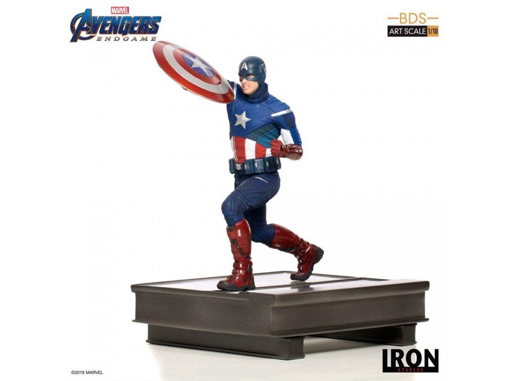 Avengers: Endgame BDS Art Scale Statue 1/10 Captain America 21 cm Iron Studios