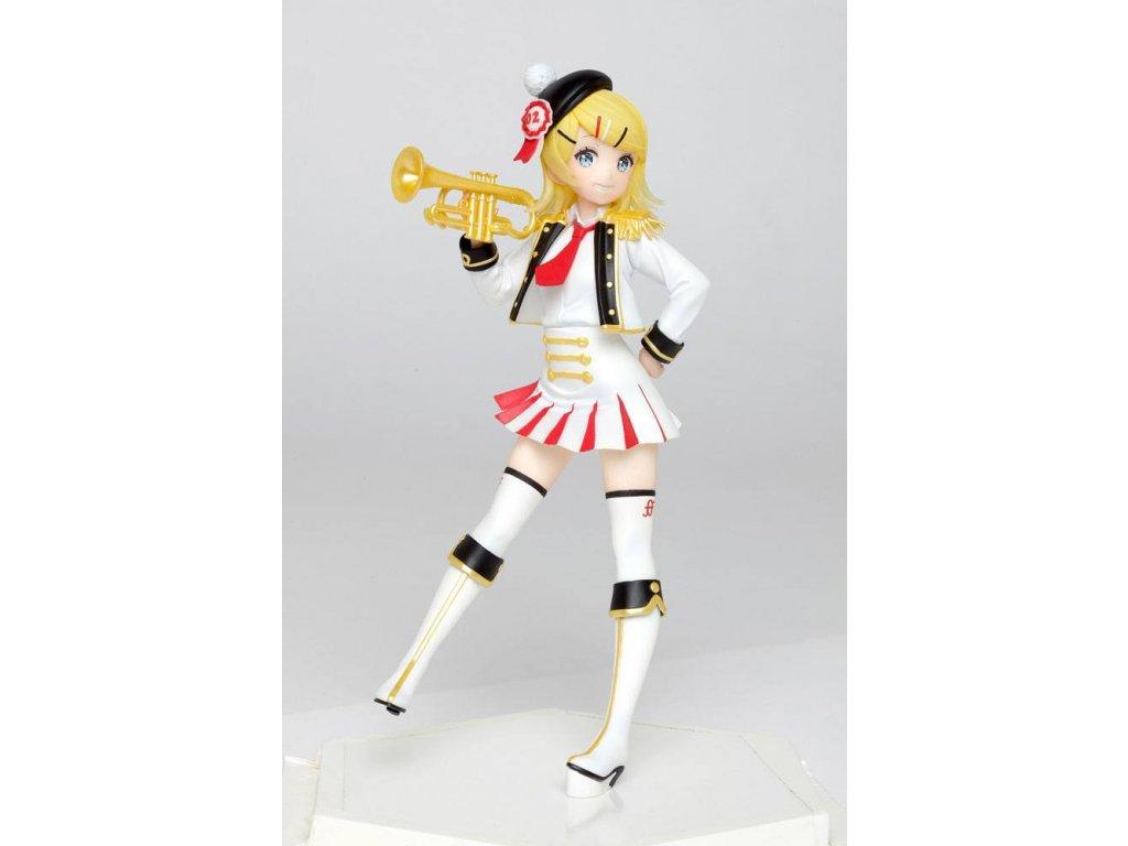 Character Vocal Series PVC Statue Kagamine Rin Winter Live Version 18 cm Taito Prize