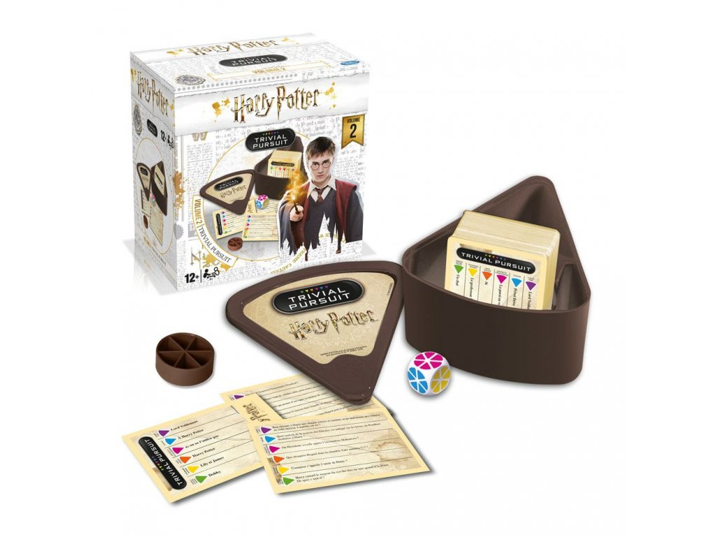 Harry Potter Card Game Trivial Pursuit Voyage Vol. 2 *French Version* Winning Moves