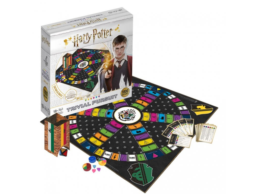 Harry Potter Card Game Trivial Pursuit Ultimate Edition *French Version* Winning Moves