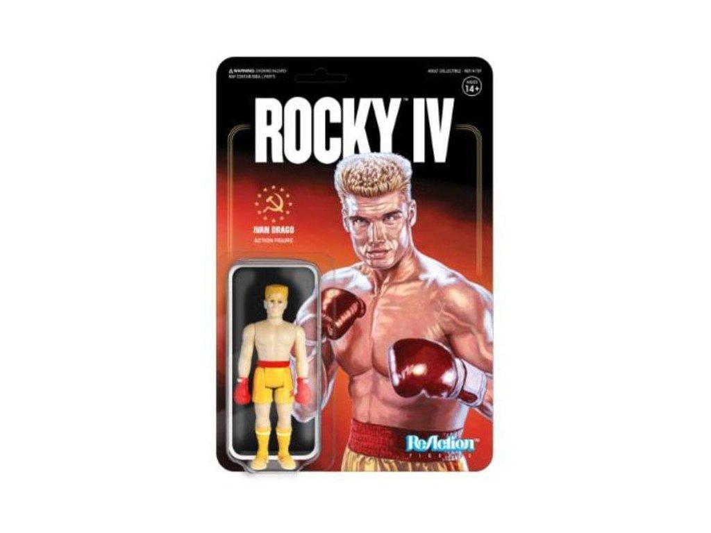 Rocky 4 ReAction Action Figure Ivan Drago 10 cm Super7