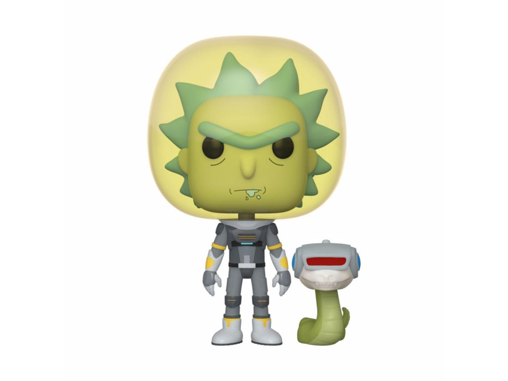 Rick & Morty POP! Animation Vinyl Figure Space Suit Rick 9 cm Funko