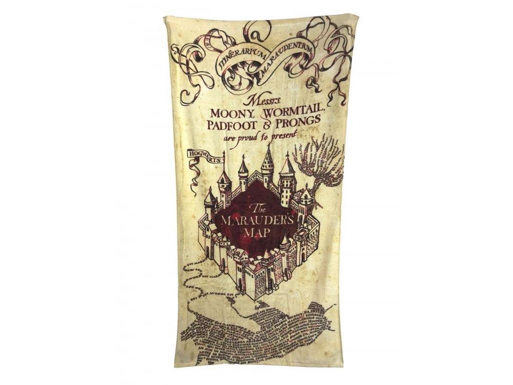 Harry Potter Towel Marauder's Map 150 x 75 cm Groovy