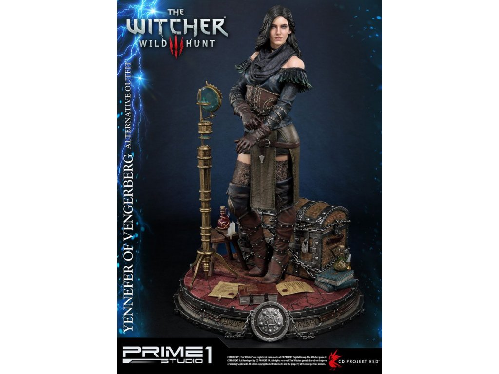 Witcher 3 Wild Hunt Statue Yennefer of Vengerberg Alternative Outfit 51 cm Prime 1 Studio