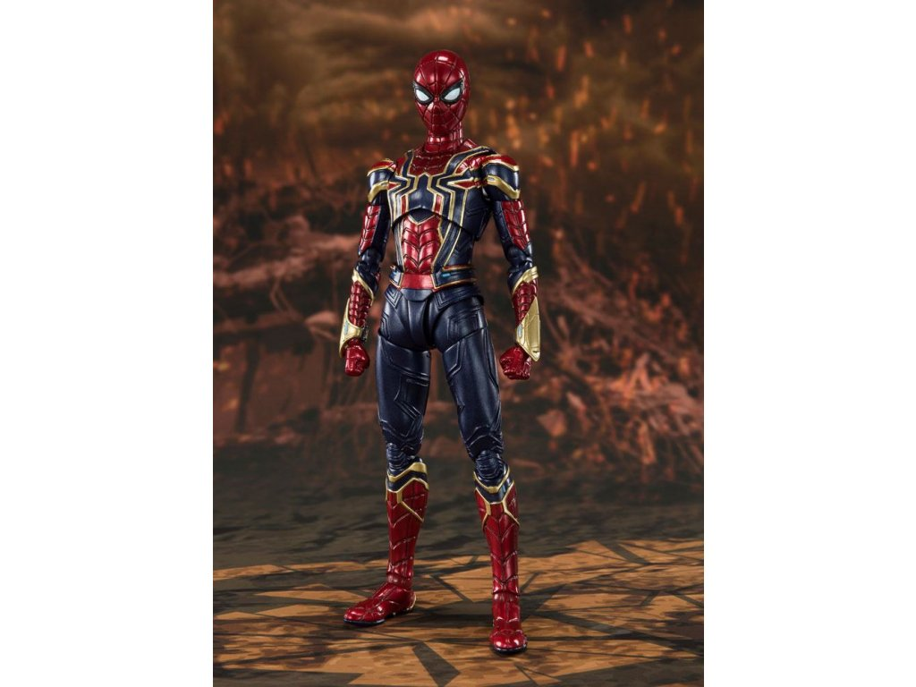 Avengers: Endgame S.H. Figuarts Action Figure Iron Spider (Final Battle) 15 cm Bandai Tamashii Nations