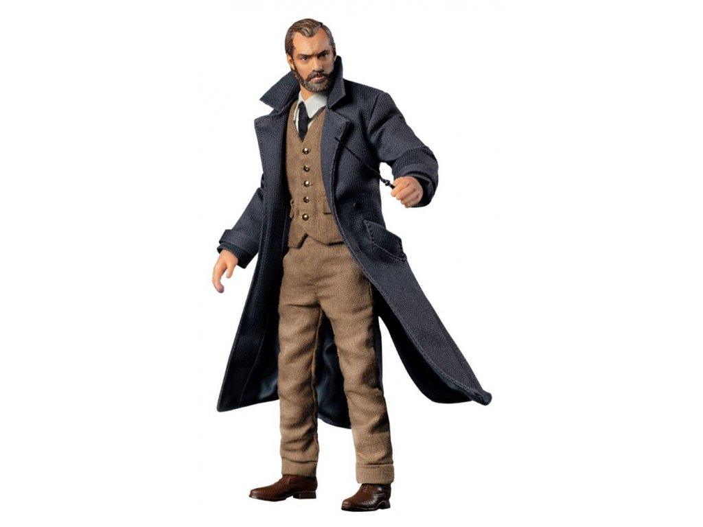 Fantastic Beasts: The Crimes of Grindelwald Action Figure 1/12 Albus Dumbledore 19 cm Soap Studio