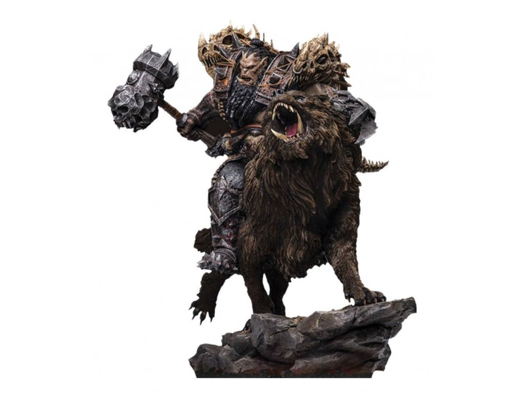 Warcraft: The Beginning Statue 1/9 Blackhand Riding Wolf (Standard Version) 40 cm Damtoys