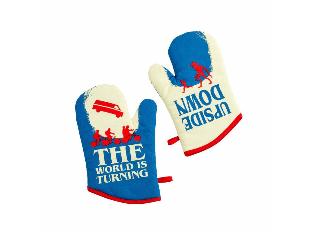 Stranger Things Oven Gloves Upside Down Funko