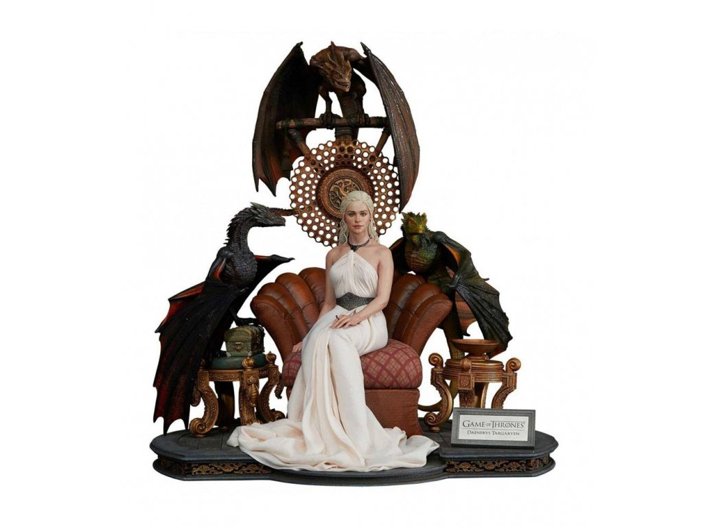 Game of Thrones Statue 1/4 Daenerys Targaryen - Mother of Dragons 60 cm Prime 1 Studio