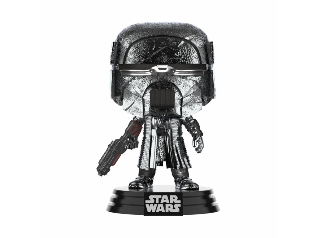 Star Wars POP! Movies Vinyl Figure KOR Blaster (Chrome) 9 cm Funko