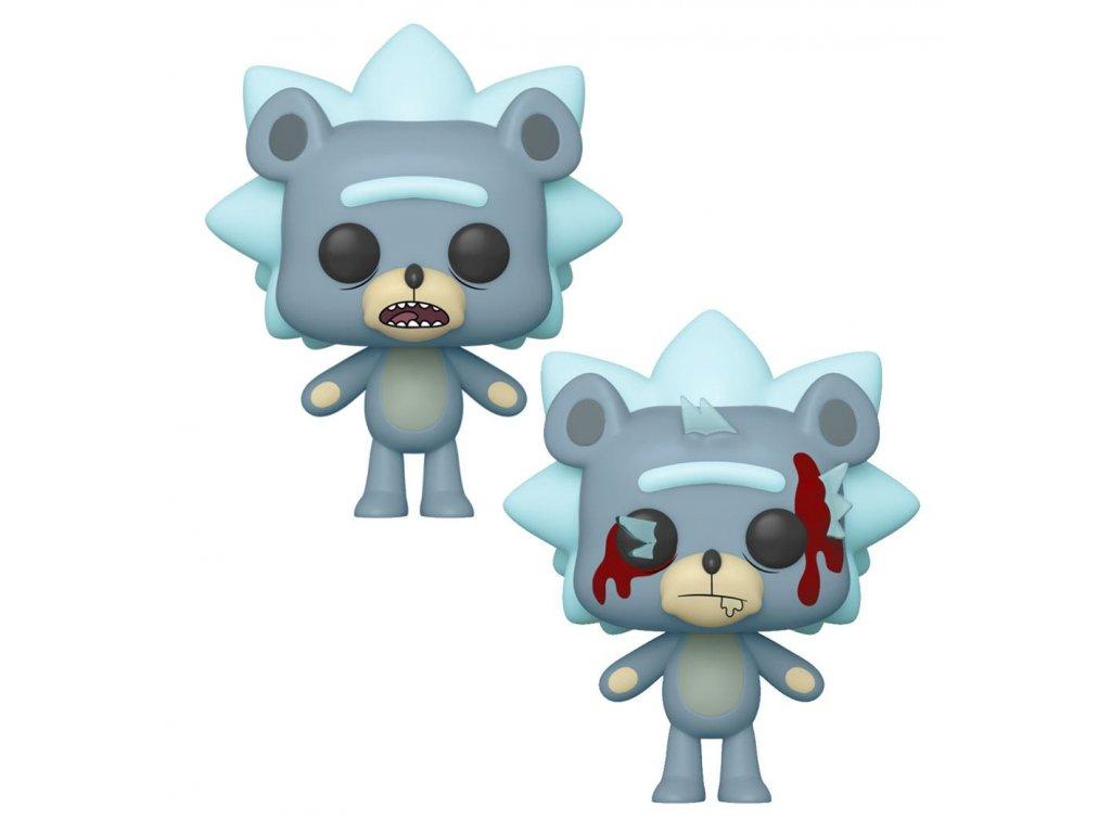 Rick and Morty POP! Animation Figures Teddy Rick 9 cm Assortment (6) Funko