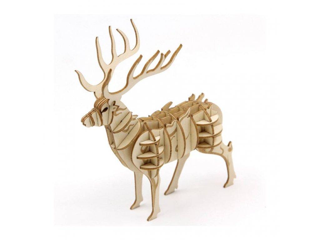 Harry Potter IncrediBuilds 3D Wood Model Kit Stag Patronus Insight Editions