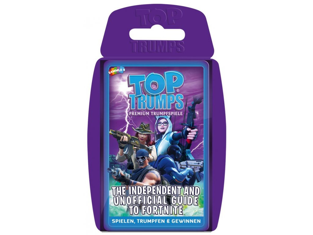 Independent & Unofficial Guide to Fortnite Card Game Top Trumps *German Version* Winning Moves