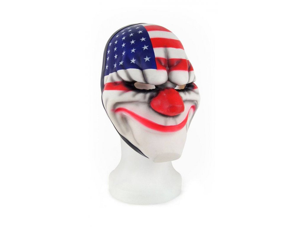 Payday 2 Vinyl Mask Dallas Gaya Entertainment