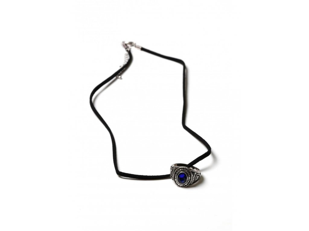Harry Potter Necklace with Ravenclaw Class Ring Charm Bioworld