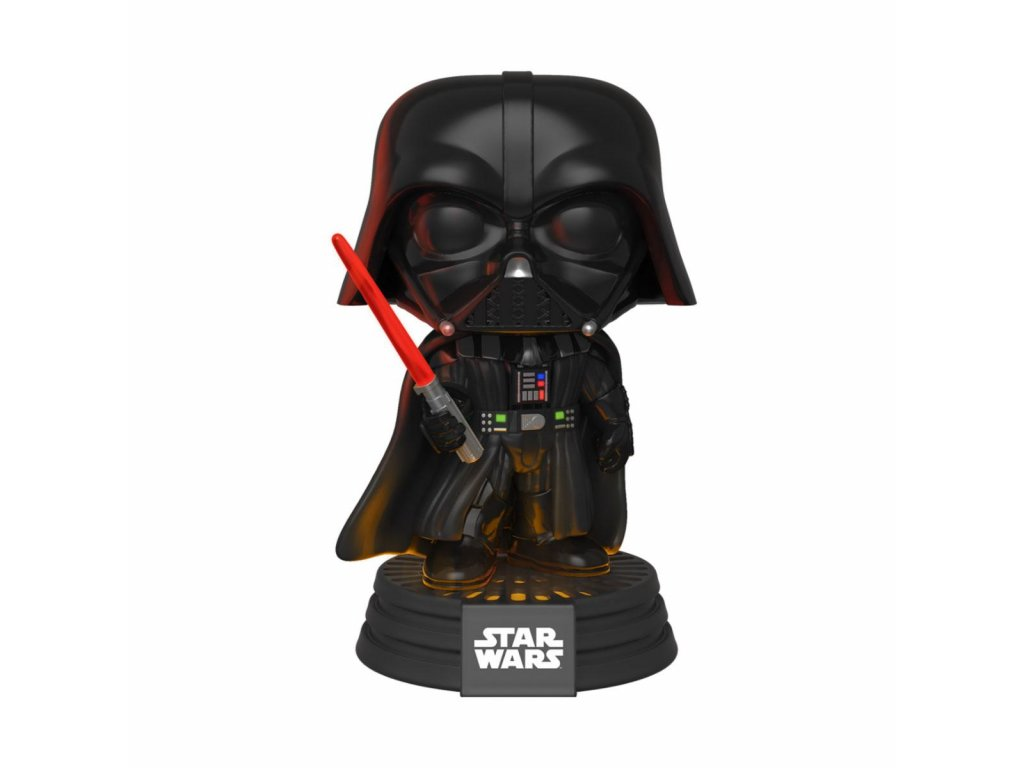 Star Wars Electronic POP! Movies Vinyl Figure with Sound & Light Up Darth Vader 9 cm Funko