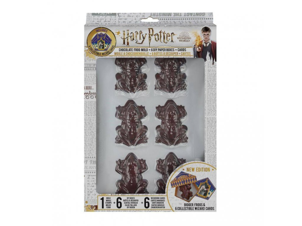 Harry Potter Chocolate Frog Mold New Edition Cinereplicas