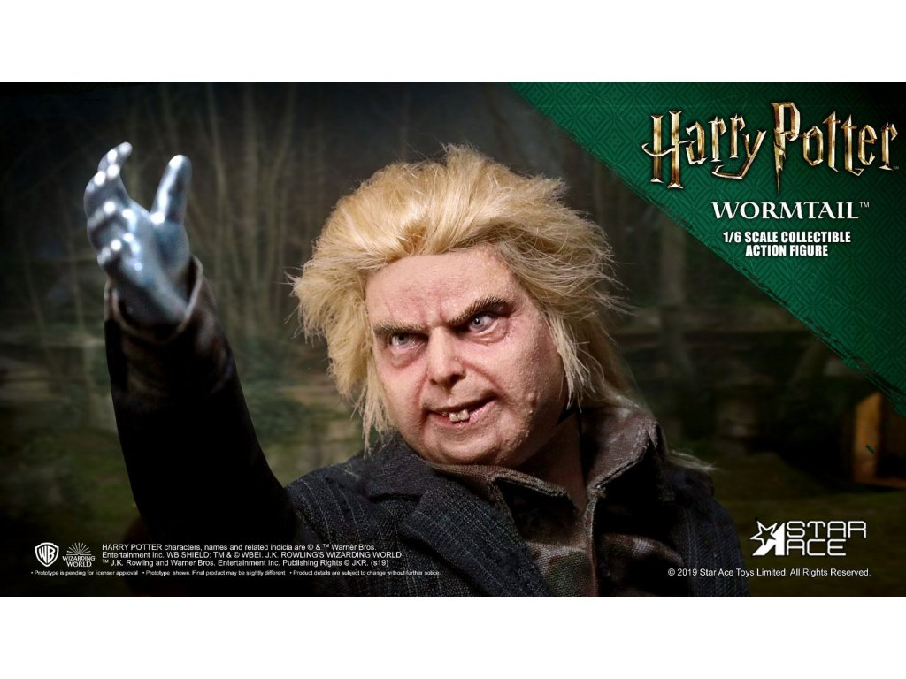 Harry Potter My Favourite Movie Action Figure 1/6 Wormtail (Peter Pettigrew) 30 cm Star Ace Toys