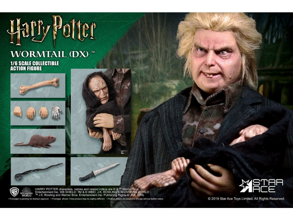 Harry Potter My Favourite Movie Action Figure 1/6 Wormtail (Peter Pettigrew) Deluxe Ver. 30 cm Star Ace Toys