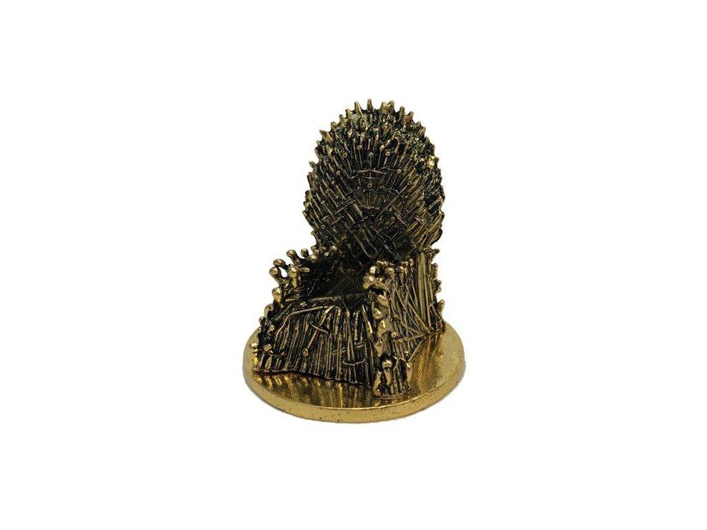 Game of Thrones KUZO Diecast Mini Replica Iron Throne Gold Variant SDCC 2019 5 cm Factory Entertainment