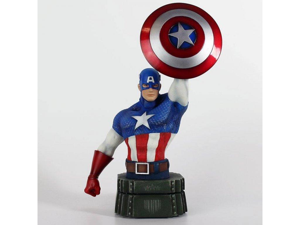 Marvel Bust Captain America 26 cm Semic